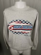 Vintage/Retro 90's Grey Sweater with Mark Martin and Nascar print Size M/L