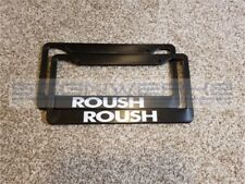 Roush License Plate Frame Racing mustang ford GT Nascar - Pair