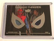 2017 Upper Deck Spider-Man Homecoming Webbed Threads Movie Memorabilia WTD3