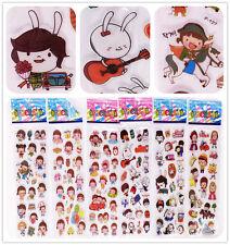 "Cartoon""Stickers Disney figures!3d foam Classic Cartoon Children Kids Gifts 6pcs"