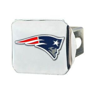 Fanmats NFL New England Patriots 3D Color on Chrome Hitch Cover Del. 2-4 Days