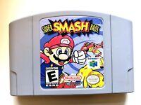 Super Smash Bros Nintendo 64 N64 Game - Tested Working - ORIGINAL AUTHENTIC!
