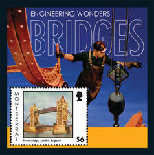 Montserrat - 2012 ENGINEERING WONDERS / BRIDGES STAMP SOUVENIR SHEET MNH