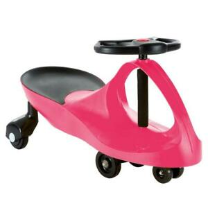 Lil Rider Zig Zag Wiggle Children Riding Toy No Batteries Ride On Car Hot Pink