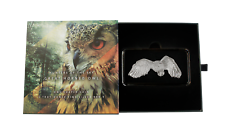 2020 1 Oz Plata Prueba $2 Hunters inversa de the Sky: gran con cuernos Owl