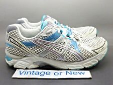 Women's Asics Gel-1170 White Silver Blue Running Shoes T1P6N sz 8 D