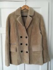 Alberta Shearling Jacket Finery Natural Off White Size 10-12