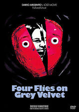 LOT#314  FOUR FLIES ON GREY VELVET NEW DVD