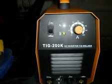 TIG  WELDER ARC WELDER 200 amp  2 YEAR UK WARRANTY UK SELLER BMC CASE