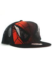 New Era Spider-Man 9fifty A-Frame Snapback Hat Adjustable Cap Marvel Black NWT