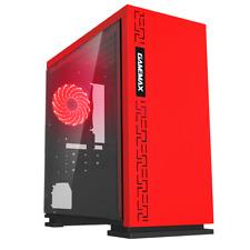 Game Max Expedition Metà Custodia per Torre dei Giochi - Rosso USB 3.0