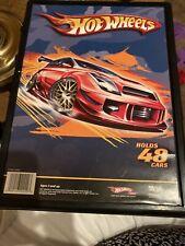 EXCELLENT COND;Hot Wheels storage case,48 cars, Mattel Hot Wheels 1:64 Tara 2007