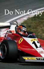 Gilles Villeneuve Ferrari 312 T3 Dutch Grand Prix 1978 Photograph 1