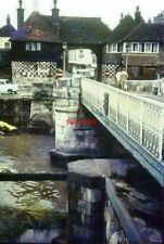 PHOTO  KENT THE BARBICAN SANDWICH IN 1968 THE BRIDGE CARRIES RAMSGATE ROAD OVER