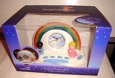 Inspirations Rainbow Prayer Clock Spanish & English NIB