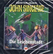 JOHN SINCLAIR - Teil 88 - Die Leichenstadt - AUDIO CD - NEU OVP