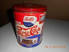 Houston Food Co. Pepsi Popcorn Tin