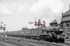 PHOTO  GWR CASTLE NO 7035 OGMORE CASTLE WITH DOUBLE CHIMNEY 1962 AT GLOUCESTER T