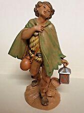 "Fontanini David #144 Heirloom Nativity Villager 5"" Scale Figurine 1987 Figure"