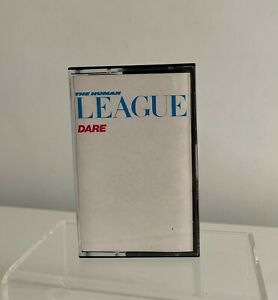 THE HUMAN LEAGUE DARE CASSETTE TAPE VIRGIN UK 1981 (TCV 2192)