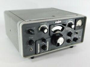 Collins KWM-2A Ham Radio Transceiver SN Unknown (untested for restoration)