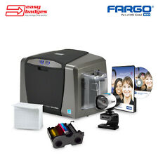 Fargo DTC1250e Complete Single Sided ID Card System with Camera
