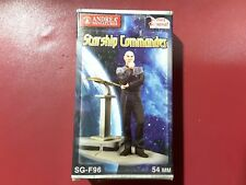 "Andrea Miniatures 1/32 54mm Series General ""Starship Commander """