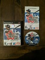 All-Star Baseball 2003, CIB & TESTED (Sony PlayStation 2, 2002)