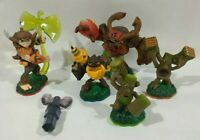 Bushwhack and undead axe trap Team skylanders play set Tree Rex stump smash