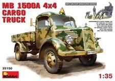 Miniart 1/35 Mercedes Benz L1500 A 4x4 Cargo Truck # 35150