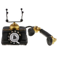 1960's Rotary Dial Old Fashioned Vintage Corded Retro Dial Telephone 7111-14