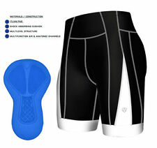 Shorts et cuissards noirs pour cycliste pour homme taille XL