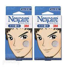 [NEXCARE] 3M Acne Dressing Pimple Treatment Patch for MEN 2 Packs 30 Patches NEW