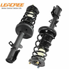 1 Pair LEACREE Complete Rear Struts Shock Absorbers for 1993-2002 Toyota Corolla