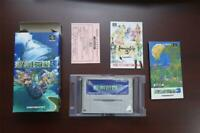 Super Famicom Seiken Densetsu 3 Trials Secret of Mana boxed JP SFC game US Selle