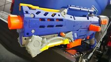 Vintage Nerf N-Strike Blue Longshot CS-6 w/Clip  E14