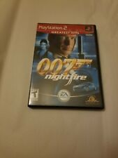 007: NightFire James Bond (Sony PlayStation 2, 2002) PS2 NO MANUAL Free Shipping
