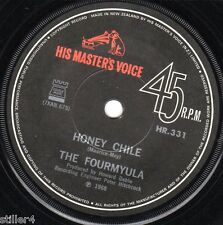 THE FOURMYULA Come With Me  *ORIGINAL NEW ZEALAND SINGLE HMV Label 1968*