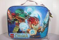 Lego Chima Building Blocks Storage Soft Side Lunch Box Bag Carry Case
