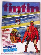 """Journal de Tintin n°265 de 1980; Interview Louis Chédid/ """"Le trou Noir"""""""