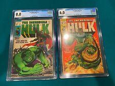 The Incredible Hulk #112 (CGC 8.0) & #113 (CGC 6.0) - Two comic sale!