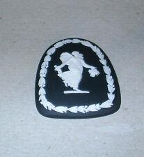 Wedgwood Jasperware Black Dancing Hours Medallion