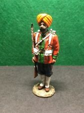 KING AND COUNTRY SOE004(G) 15TH LUDHIANA SIKHS (AT ATTENTION) GLOSS (RETIRED)