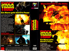 "VHS - FSK 18 - "" Shock TROOP "" (1989) - John Christian -- VPS"