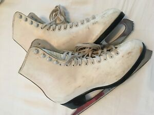 Lange Caprice Size 7 Made in Canada Women's Ice Skates