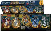 Harry Potter Écussons Slim 1000 Pièce Puzzle 900mm x 300mm (NM)