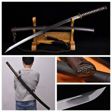 JAPAN 98 TYPE MILITARY SAMURAI SWORD RAZOR SHARP BATTLE READY COWHIDE SHELL #746