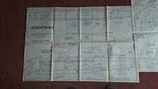 Model aircraft plan (Gloster meteor Mk.  IV)