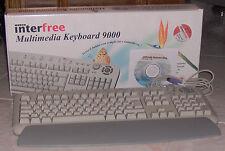Tastiera Multimediale PS 2 - Grigio chiaro