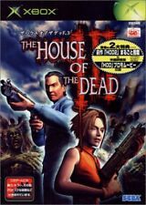 Used Xbox  The House of the Dead 3 Sega MICROSOFT  JAPANESE JAPONAIS IMPORT
